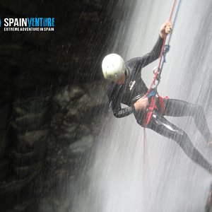 spainventure.com doing Canyoning in Andalusia!!!