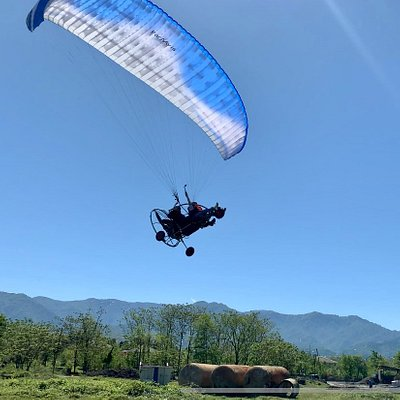 Paragliding in Batumi with instructor