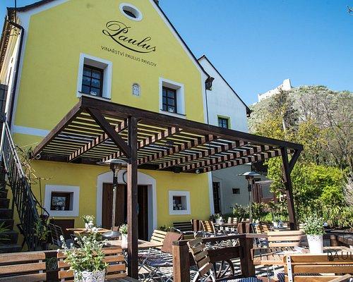 Historický vinařský dům se sklepem ze 16. století.