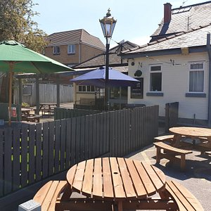 Large Beer Garden at the rear