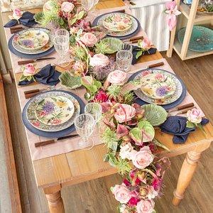 Composição de mesa para o Dia das Mães na Amelie Casa 2019.