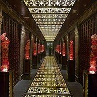 Entrada do Four Seasons Restaurant de Pequim.