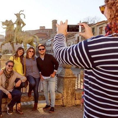 """Visita guiada en Trujillo """"El Coleccionista de Atardeceres"""""""