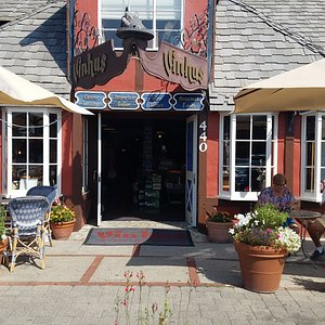 Stop by for a cheese plate and wine on the patio. It's a great place to meet with friends.