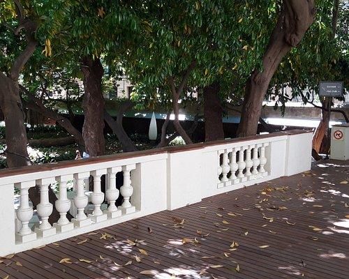 Jardín de la casa de Ignacio de Puig