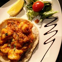 Prawn Puree, a mouthwatering dish only at Everest Dine