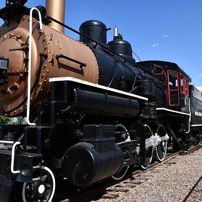 Static display of train