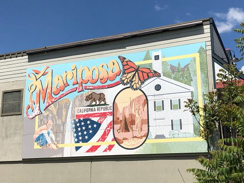 The Mariposa California Mural