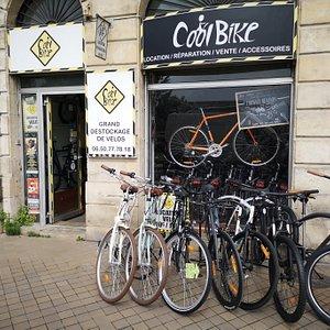🚲 👌👍Cool Bike aux Chartrons. LA boutique de vélos de Bordeaux centre et des Chartrons. Vente, réparations ou locations de vélos.  Cool bike : THE bikes rental shop in Bordeaux. Trust Cedric the boss : he will brighten your day ! 👍