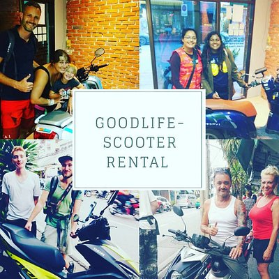 Goodlife Scooter Rental say many thanks to all our customers!