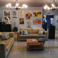 Studio G Art Gallery at House of Art in Hermanus.
