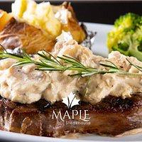 Steaks no ponto perfeito, com temperos exclusivos e de dar água na boca!