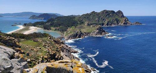 Islas cíes, Vigo, Galicia, España