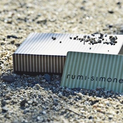 rumi simone gift cards are available online as well as in our boutique. With presentation in mind we are happy to wrap them beautifully in a box with a bow with a custom card inside.