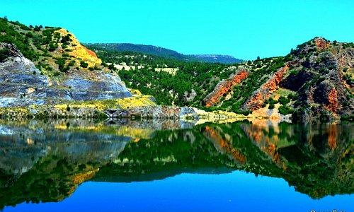 Cindere baraj gölü Denizli
