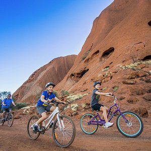 A perfect way to discover Uluru with the whole family,