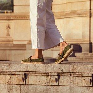 Women's summer shoes - Espadrilles