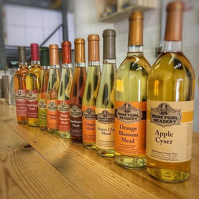Our Seasonal mead selection is great!