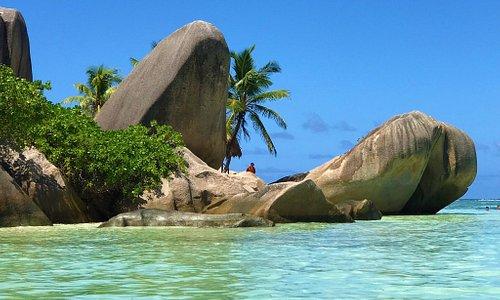 Anse Source D'Argent La Digue, Seychelles