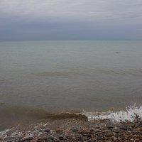 Blick auf den Lake Huron