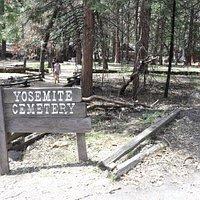 Yosemite Cemetery in Yosemite Valley Village