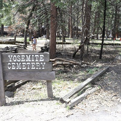 Yosemite Cemetery in Yosemite Valley Village