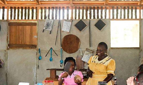 Garifuna Cultural & Culinary Tour - Hopkins Belize - Coconut Processing