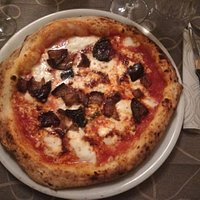 Pizza scamorza melanzane nduja e bufala (consigliatissima)