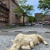 Das schlafende Nashorn