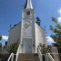 Historic St. Joseph's Church in Mariposa