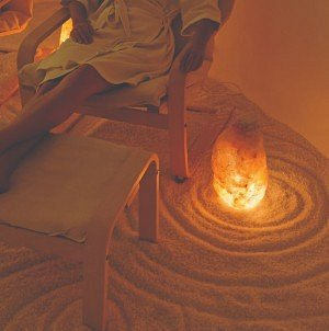 Relaxing in a Salt Therapy room ... is blissful