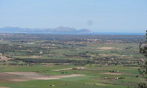 Vue vers Alcudia