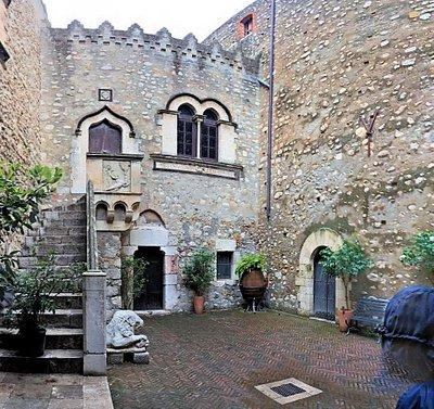 Courtyard inside