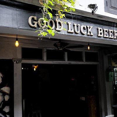 Good Luck Beerhouse Facade