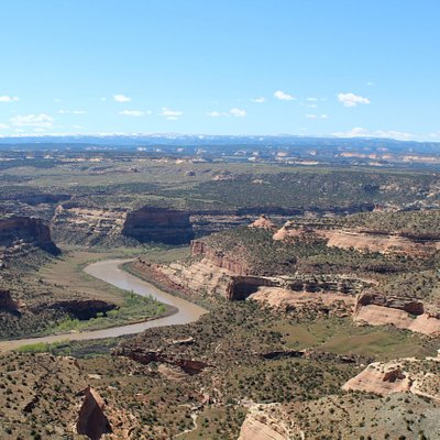 Third view of McInnis Canyon from Rabbit's Ear Mesa
