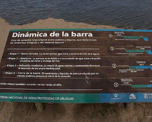 Explicações sobre a dinâmica da barra. Importante. Quando estivemos lá a etapa era a 4. Quando a barra não se comunica com o mar.
