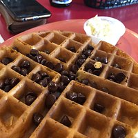 Chocolate Chip Waffle Special