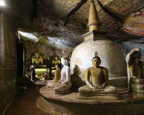Buddhas.