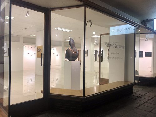 Dyman Gallery is situated on the corner of Plein & Ryneveld Street (Plein street 20)  in Stellenbosch. We have monthly curated exhibitions with focus on South African contemporary artists and its diaspora. www.dymangallery.co.za