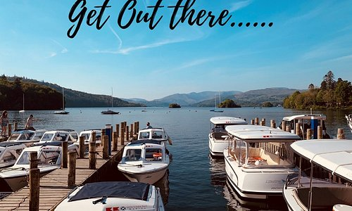 Early morning photo from our site on Lake Windermere