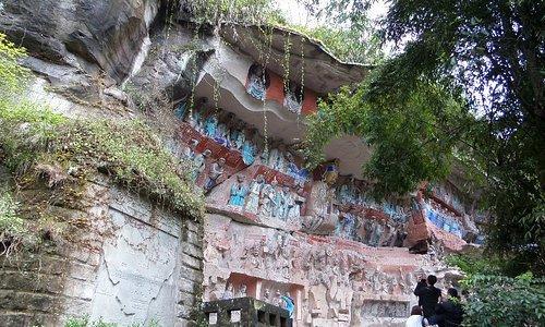 Dazu Rock Carvings Beishan Site