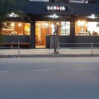 Canova Cafe at Night