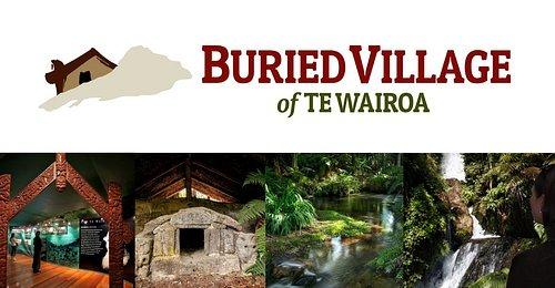 Kia Ora  Welcome to the Buried Village