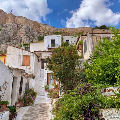 Anafiotika is a hidden wonder inside Athens scenic tiny neighborhood.  A must see