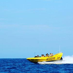 Jet boat tours.