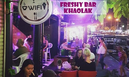 Happy time on you holiday at freshy bar