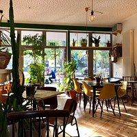 Der Innenraum vom Grünen Salon.