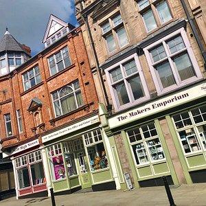 No.26 Makers Emporium, Civic Theatre Box Office & Visitors Centre, Rotherham.
