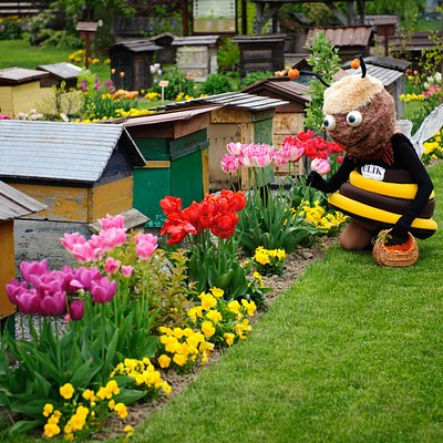 Pszczółka Ula - maskotka z pasieki ULIK w skansenie pszczelarskim i zagrodzie edukacyjnej na Roztoczu :)