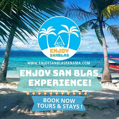 Enjoy San Blas Banner